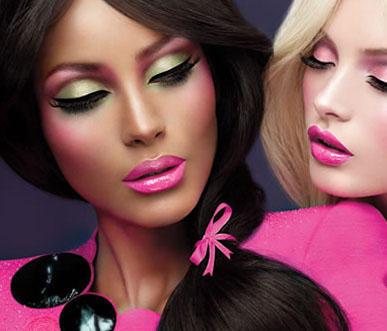 Barbie loves M.A.C.