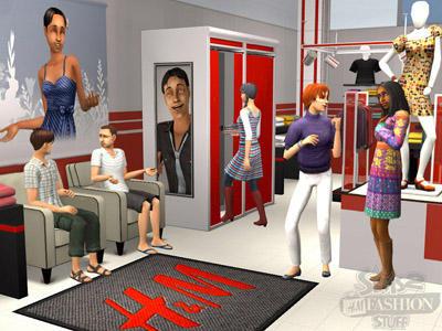 H&M en los Sims