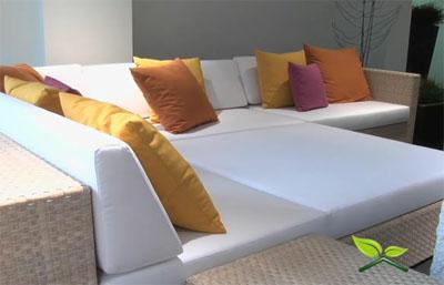 Elegir el mobiliario para la terraza o jardin
