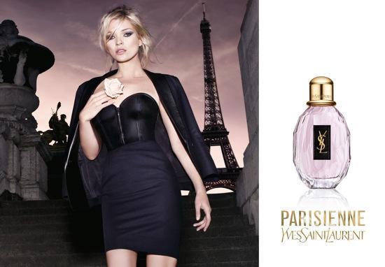 Kate Moss para Perfume YSL