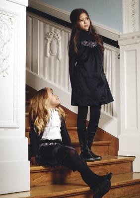 Moda otoñal infantil de Escada