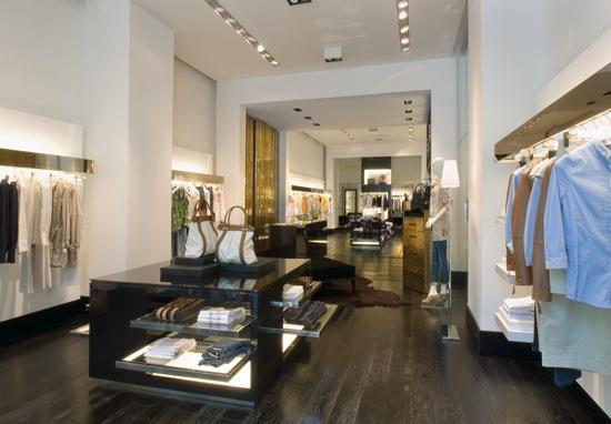 Primero Flagship Store en España de Trussardi en Barcelona