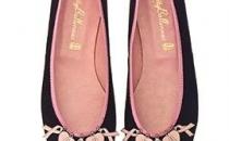 Calzado de PrettyBallerinas para combatir el cáncer de mama