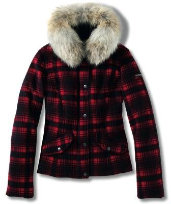 Estampado tartn de Woolrich