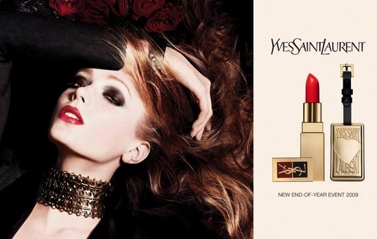 Maquillaje Yves Saint Laurent para la Navidad