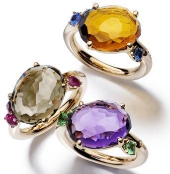 Colores exuberantes en las joyas de Pomellato