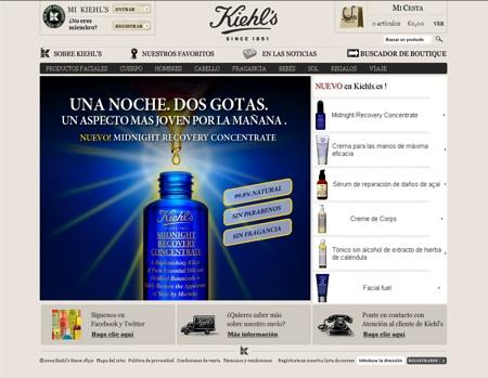 Kiehl's en la red