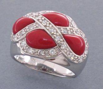Rojo y plata