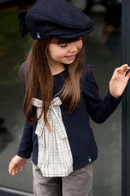 Moda infantil parisina de Elle