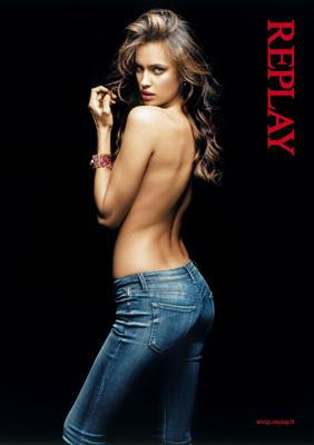 Irina Shayk para Replay