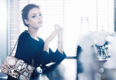Mila Kunis, actriz de moda e imagen de Dior