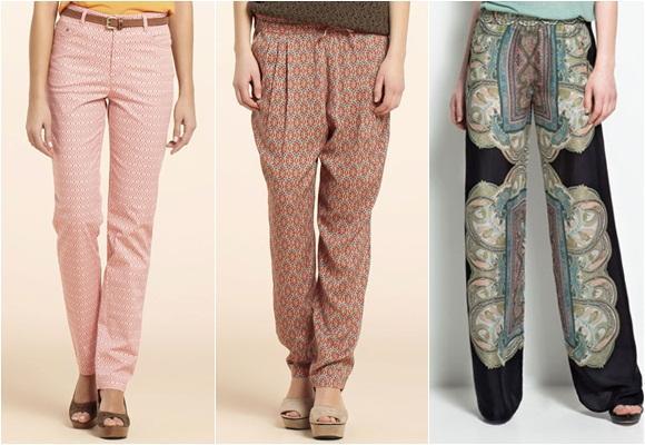 Pantalones Estampados Vuelve Ese Look De Los 80 Estilo Moda Topestilo Com
