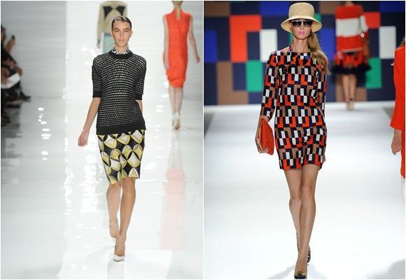Moda inspirada en el arte abstracto