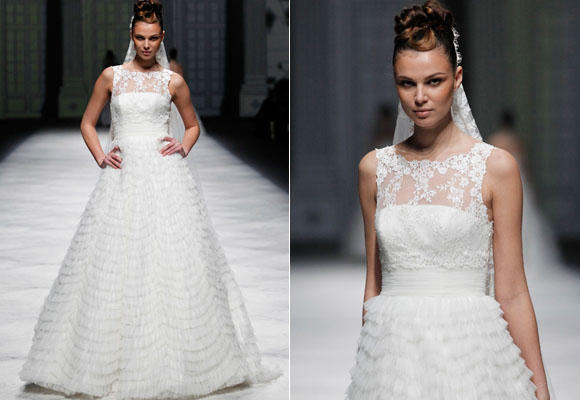 vestidos de novia la sposa colección 2013 - tendencias - topestilo