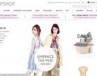 Topshop, la tienda online de las