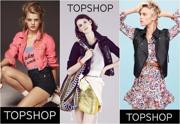 Topshop, la tienda online de las 'celebrities'