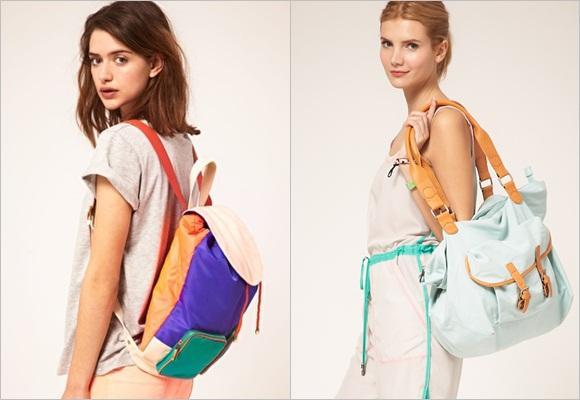 Bolsos XL a todo color