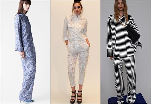 ¡Fiesta de pijamas! Se lleva la ropa muy casual