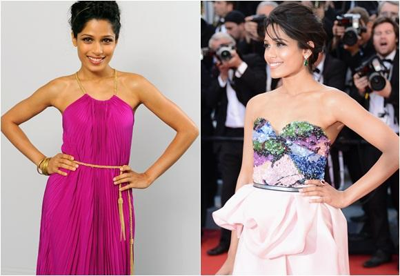 Freida Pinto, it-girl hindú de moda