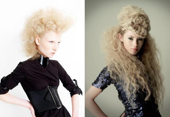 Frizzy hair. Rizos electrizantes