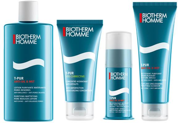 Biotherm Homme combate los brillos