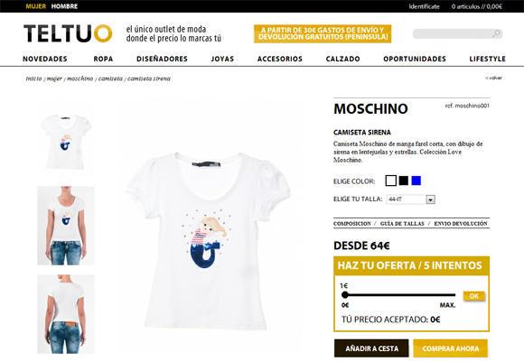 Pujar por ropa de marca, ¡lo último en e-commerce!