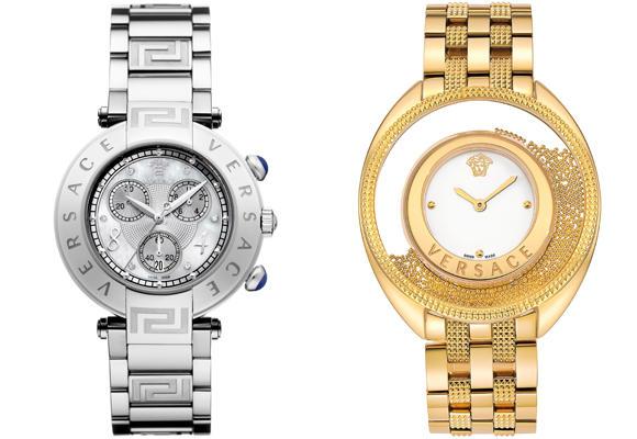 Oro o plata con Versace