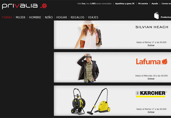 Clubes privados de ventas online (II)