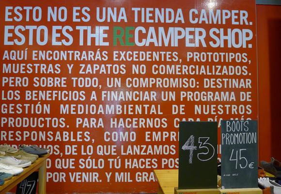 El outlet de Camper