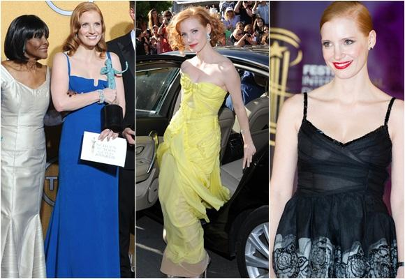 Jessica Chastain, la pelirroja en Hollywood