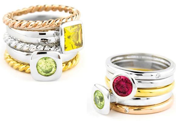 Divertidos anillos de Sonais