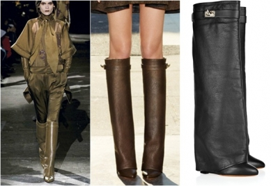 Botas con polaina, objetivo de fashion victims