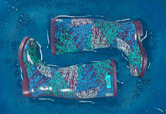Botas de agua de pasarela