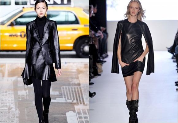 Cómo llevar la ropa de cuero negro