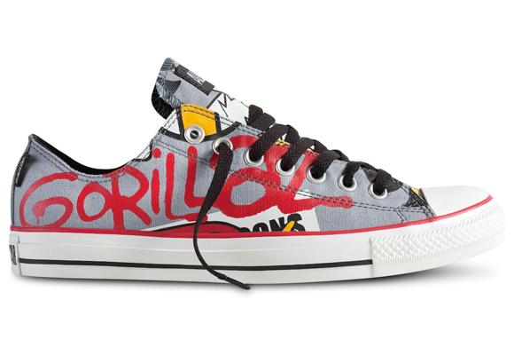 Más Gorillaz con Converse