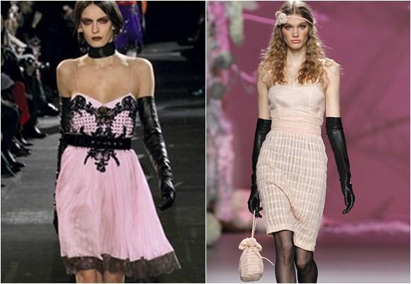 Combinar rosa y negro de forma acertada