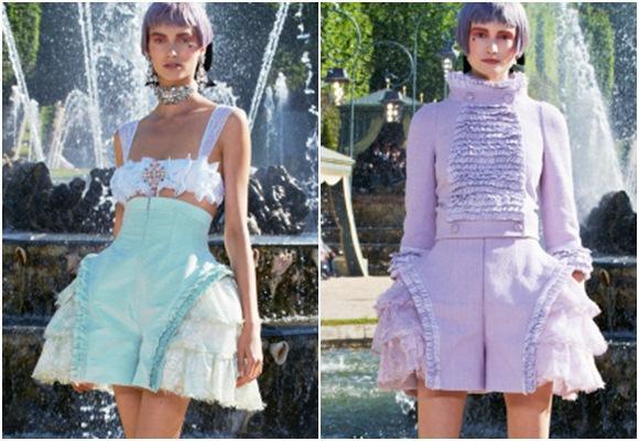 Nuevos modelos estilo María Antonieta