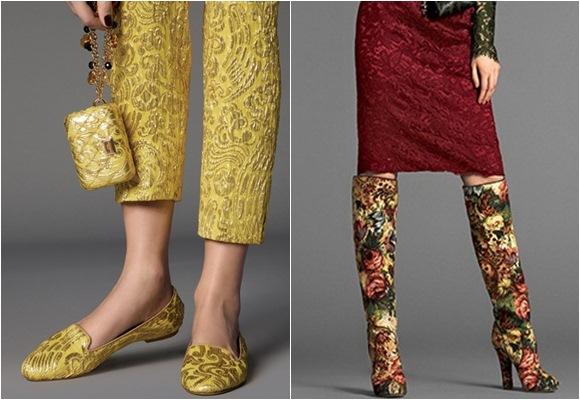 Calzadas con telas de tapizar