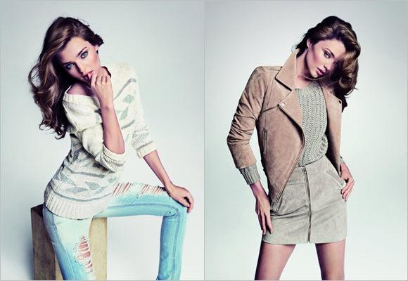 Miranda Kerr, representante del Urban chic style