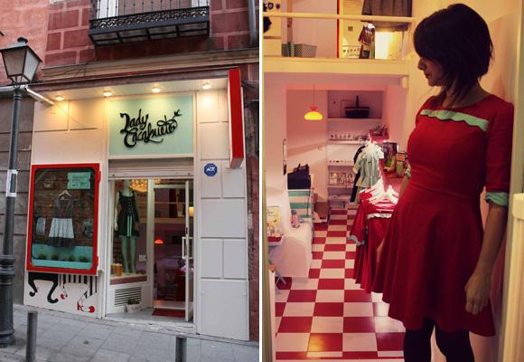 Lady Cacahuete en Madrid