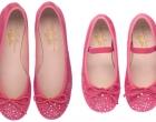 Barbie Fuchsia suede and Swarovski crystals