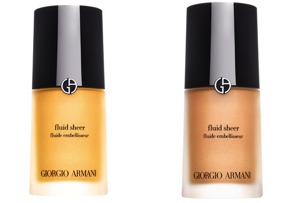 Luminous Silk Foundation & Fluid Sheer de Giorgio Armani