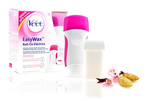 Veet EasyWax para pieles sensibles
