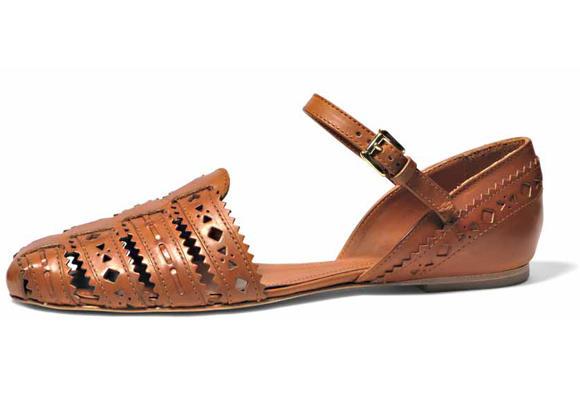 Sandalias artesanas de Tods