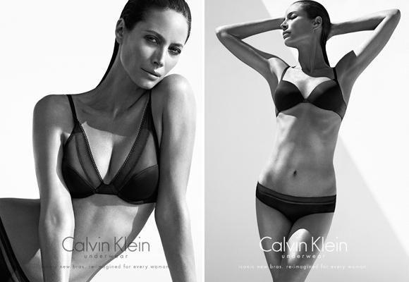 Christy Turlington para Calvin Klein