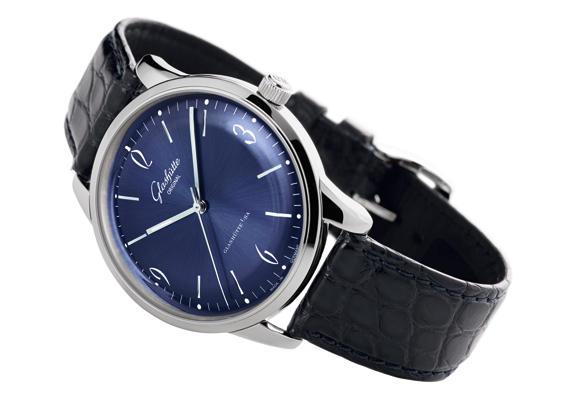 Reloj Sixties en azul noche
