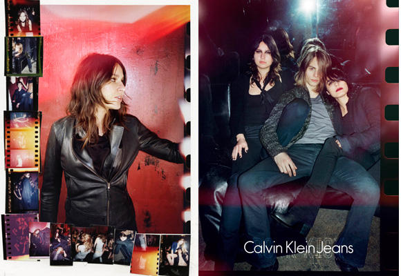 Denim otoñal de Calvin Klein