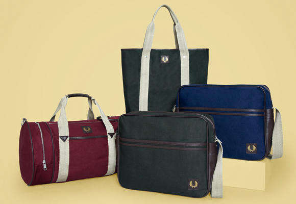 Canvas bags de Fred Perry
