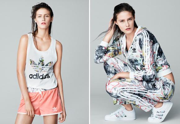 Topshop para Adidas
