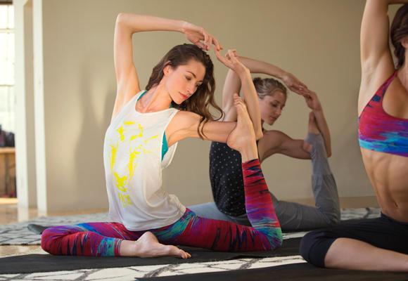 Reebok y el Strala Yoga